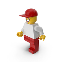 Lego Man with Cap PNG & PSD Images