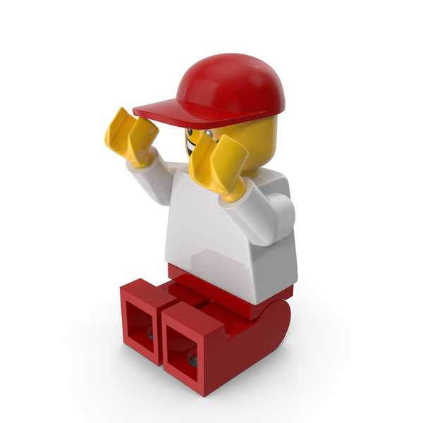 Lego Man with Cap Object