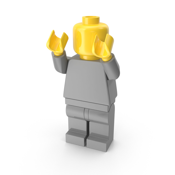 Neutral Lego Man Object