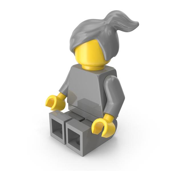 Neutral Lego Woman Object