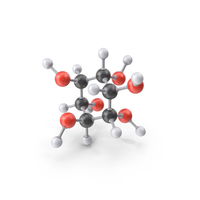 Inositol Molecule PNG & PSD Images