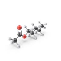 Amyl Acetate Molecule PNG & PSD Images