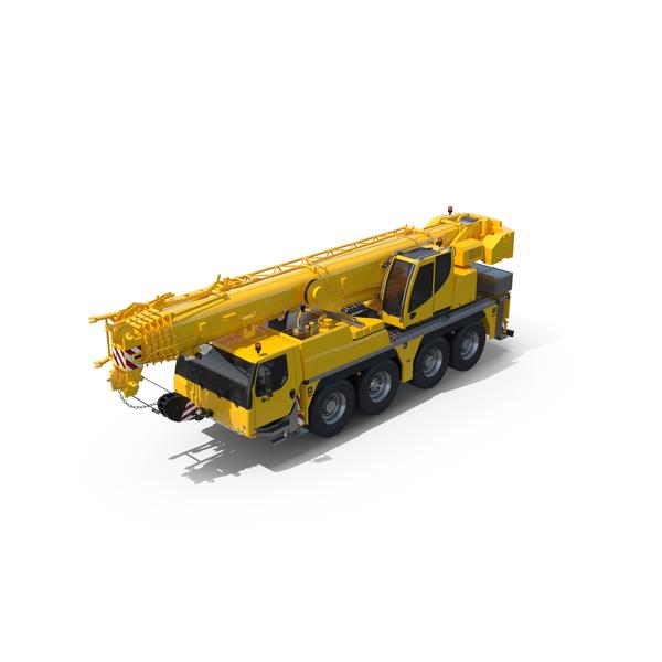 Liebherr Mobile Crane Object