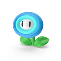 Super Mario Fire Flower PNG & PSD Images