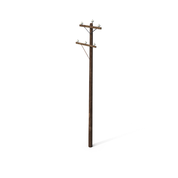 Wood Power Line PNG & PSD Images