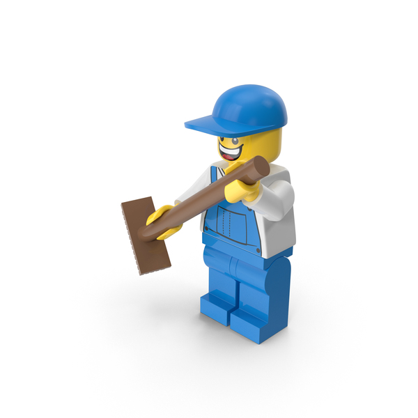 Lego Janitor Object
