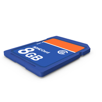 SD Memory Card PNG & PSD Images