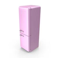 Smeg Pink Refrigerator PNG & PSD Images