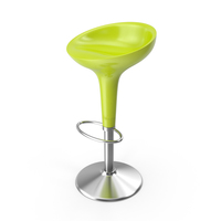 Bombo Stool Green PNG & PSD Images