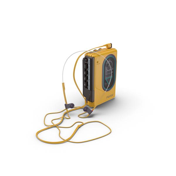 80's Sport Walkman PNG Images & PSDs for Download