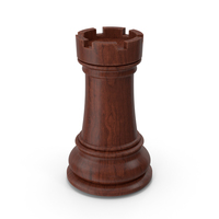 Chess Piece  Dark Rook PNG & PSD Images