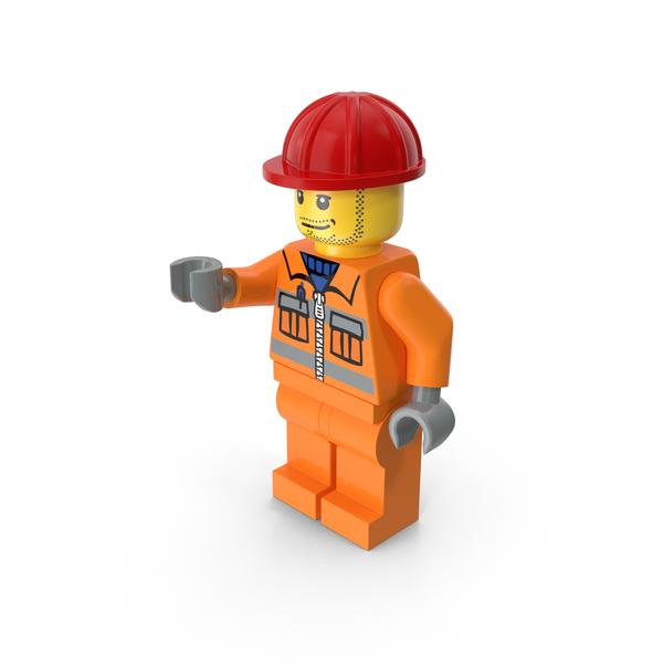 Lego Worker Object