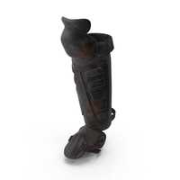Bloody Riot Shin Guard PNG & PSD Images