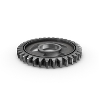Silver Gear Flat PNG & PSD Images