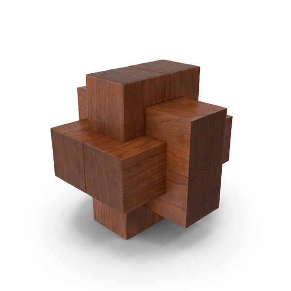 Wooden Puzzle Object