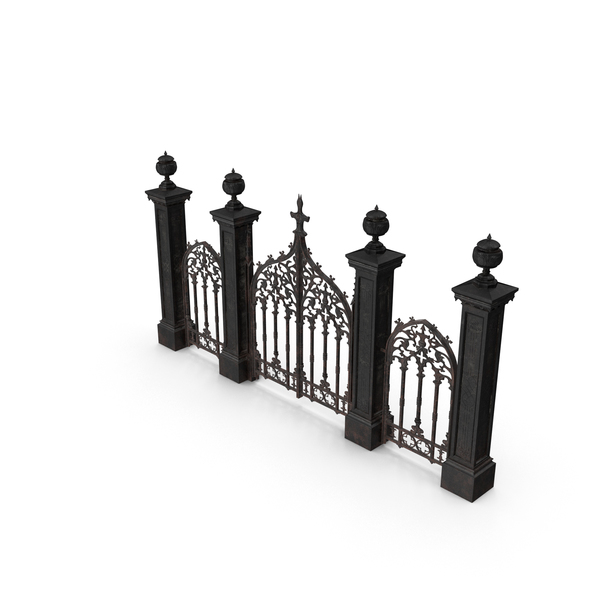 Cemetery Gates PNG & PSD Images