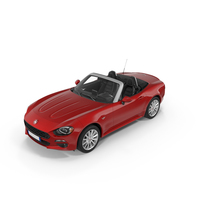 Fiat 124 Spider 2017 PNG & PSD Images