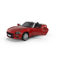 2017 Fiat 124 Spider PNG & PSD Images