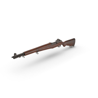 WWII M1 Garand PNG & PSD Images