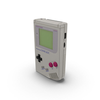 Classic Game Boy PNG & PSD Images