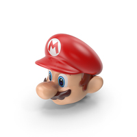 Mario's Head PNG & PSD Images