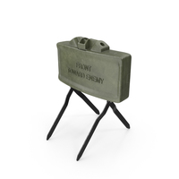 M18 Claymore Mine PNG & PSD Images