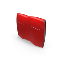 Tesla Powerwall Double Unit Set PNG & PSD Images