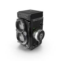 Rolleiflex 2.8 FX Camera PNG & PSD Images
