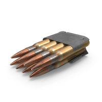 Garand Ammo Clip PNG & PSD Images