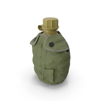 M1967 Canteen and Cover PNG & PSD Images