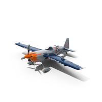 Edge 540 Race Aircraft Blue Paint Scheme PNG & PSD Images