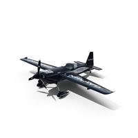 Edge 540 Race Aircraft Black Scheme PNG & PSD Images