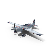 Edge 540 Race Aircraft Dolderer Scheme PNG & PSD Images