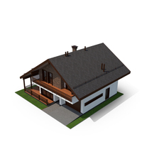 Shale Style House PNG & PSD Images