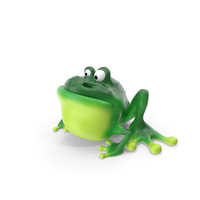 Cartoon Frog PNG & PSD Images