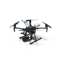 DJI Matrice 200 Drone PNG & PSD Images