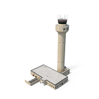 Airport Control Tower PNG & PSD Images