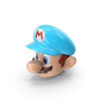 Mario's Head Ice Costume PNG & PSD Images