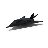 F-117 Nighthawk Stealth Bomber PNG & PSD Images