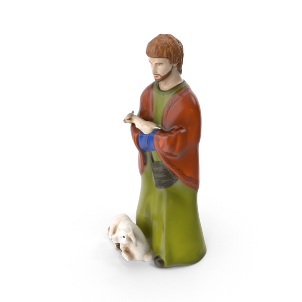 Shepherd Figurine PNG & PSD Images