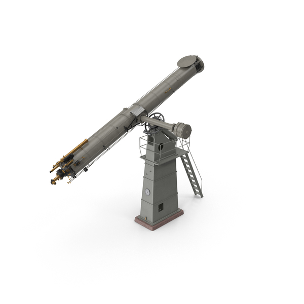Observatory Telescope PNG & PSD Images