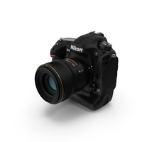 Nikon D5 Professional DSLR Camera PNG & PSD Images