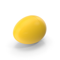 Yellow Plastic Egg PNG & PSD Images