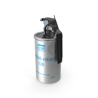 Tear Gas Canister PNG & PSD Images