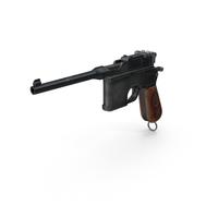 Mauser Pistol PNG & PSD Images