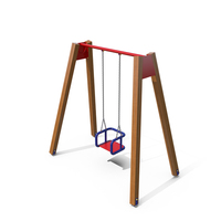 Outdoor Playground Baby Swing PNG & PSD Images