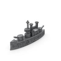 Classic Monopoly Ship Piece PNG & PSD Images