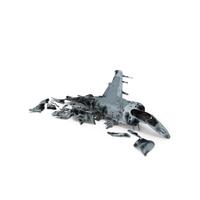 Harrier II Destroyed PNG & PSD Images