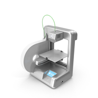 Cube 3D Printer PNG & PSD Images