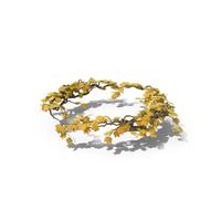 Yellow Ivy Circle PNG & PSD Images